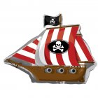 Ballon Bateau Pirate géant Mylar