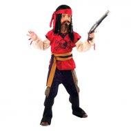 Déguisement de Pirate Rouge