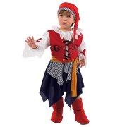 D�guisement de Petite Pirate fille
