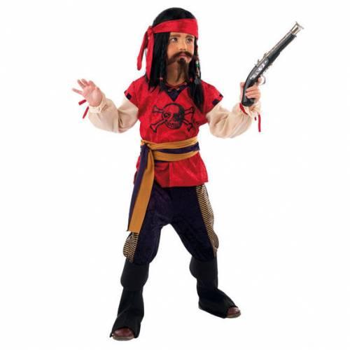 Déguisement de Pirate Rouge 11-13 ans
