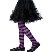 Collants de sorci�re Violet/Noir