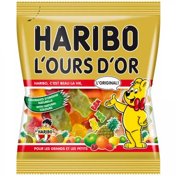 Ours d Or Haribo - Mini sachet 40g