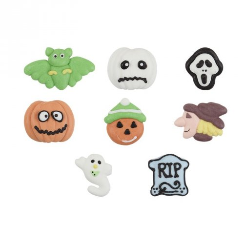 Assortiment de 6 figurines Halloween en sucre