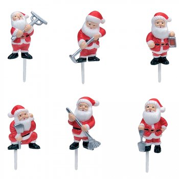 6 Pics Pères Noël