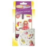 Figurines princesse sucre � plat