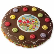 Confettis smiley sucre � plat