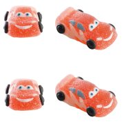4 Figurines Cars en sucre g�lifi�
