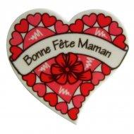 Grand Coeur Bonne Fête Maman