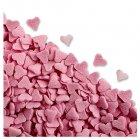 Sachet 50g coeurs roses