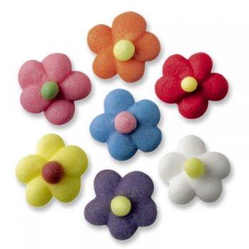 14 Petites fleurs couleurs vives