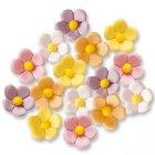 15 Petites fleurs couleurs pastels