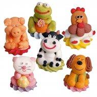 6 animaux de la ferme 3D
