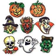 8 Décors Halloween à Plat