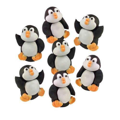 5 Pingouins en 3D