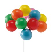 Mini-ballons sur tige
