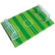 Plaque terrain de foot en p�te d'amande