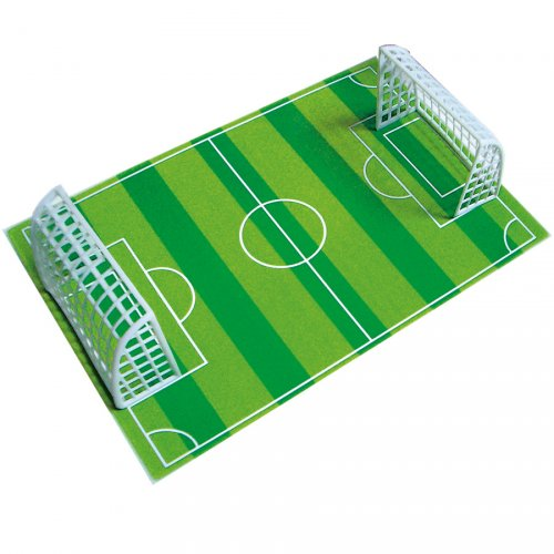Coloriage Terrain De Foot.Plaque Terrain De Foot En Sucre