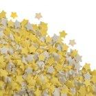 Etoiles jaunes et blanches en sucre