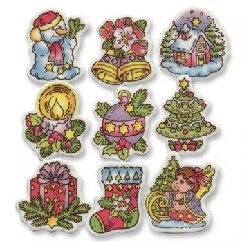 9 Décors Motifs de Noël à Plat