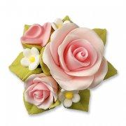 Bouquet de roses en sucre