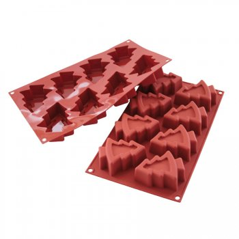 Moule silicone 8 sapins