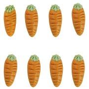 8 carottes en pâte d'amande