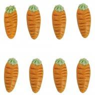 8 carottes en p�te d'amande