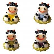 4 Vaches en sucre 3D