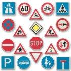 10 Décors Panneaux de Signalisation