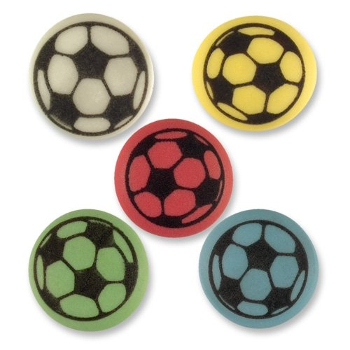 10 ballons de foot en sucre