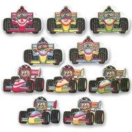 8 Décors Formule 1 à Plat