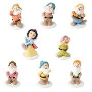 Grandes Figurines Blanche-Neige et les 7 Nains en sucre