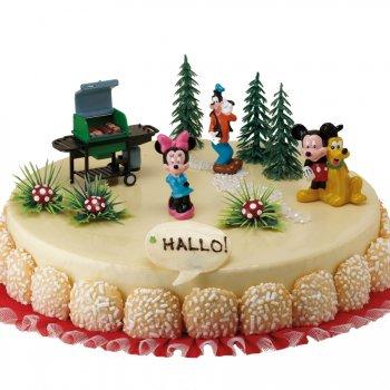 Grand kit décor à gâteau Mickey et ses amis