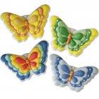 4 Grands Papillons en sucre