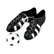 Chaussures et ballon de foot