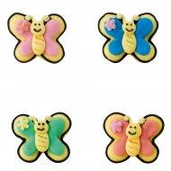 Minis papillons en sucre à plat