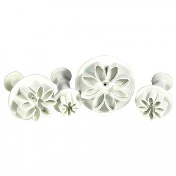 Emporte-pièces poussoir fleurs