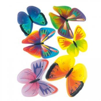 6 Papillons en azyme