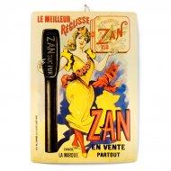 Plaque Zan