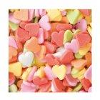 Sachet de 50g coeurs multicolores