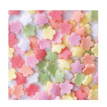 Sachet de 100g fleurs multicolores