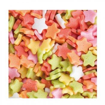 Sachet de 100g étoiles multicolores