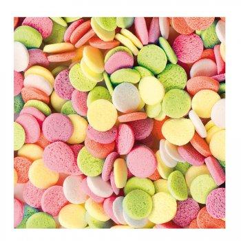 Sachet de 50g confettis multicolores