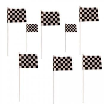 8 drapeaux de course