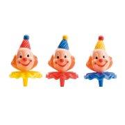 8 têtes de clown à piquer