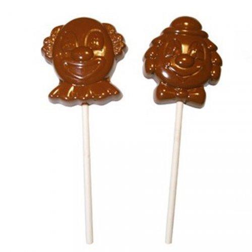 Moule Chocolat Sucettes Clowns