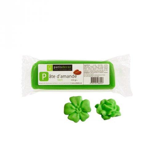 Pâte d amande Vert 250gr