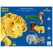 Puzzles Géants - Fauve et ses amis