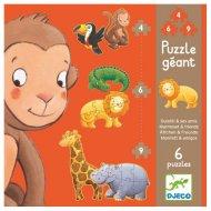 Puzzles G�ants - Ouistiti et ses amis