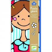 Puzzle g�ant - Lili la coquette, 36 pi�ces